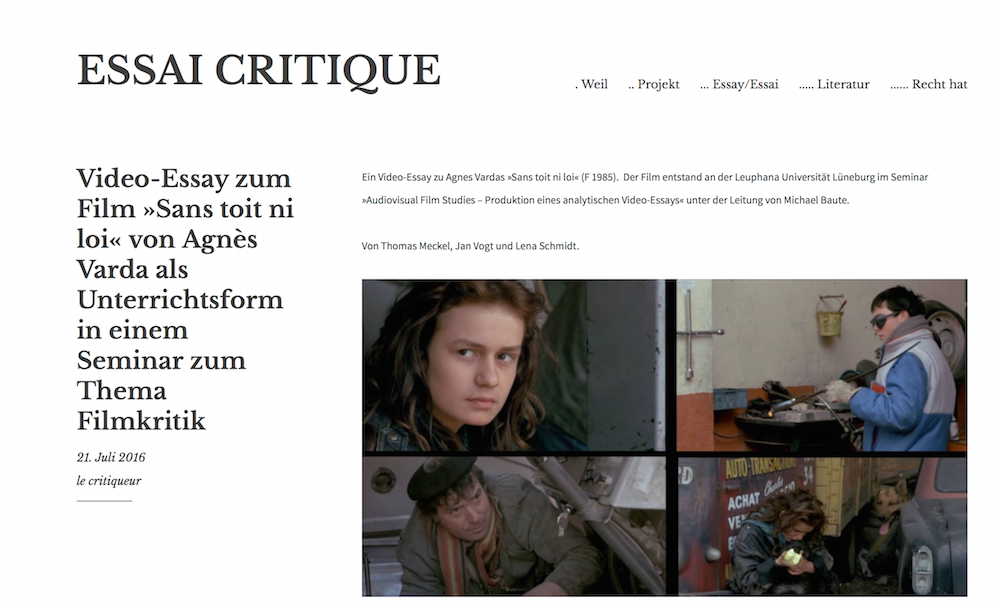 movie critique essay Free psychology movie review papers, essays, and research papers.